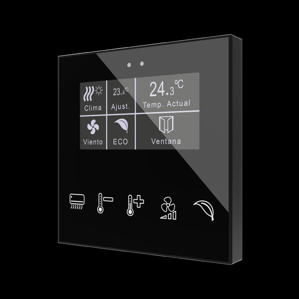 Flat Display / Контроллер комнатный  KNX, сенсорный с дисплеем 2,4 дюйма